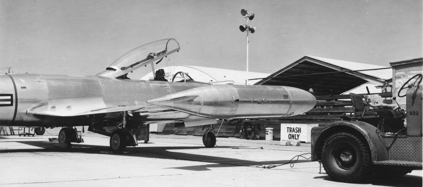 T-33 (?) at Palmdale