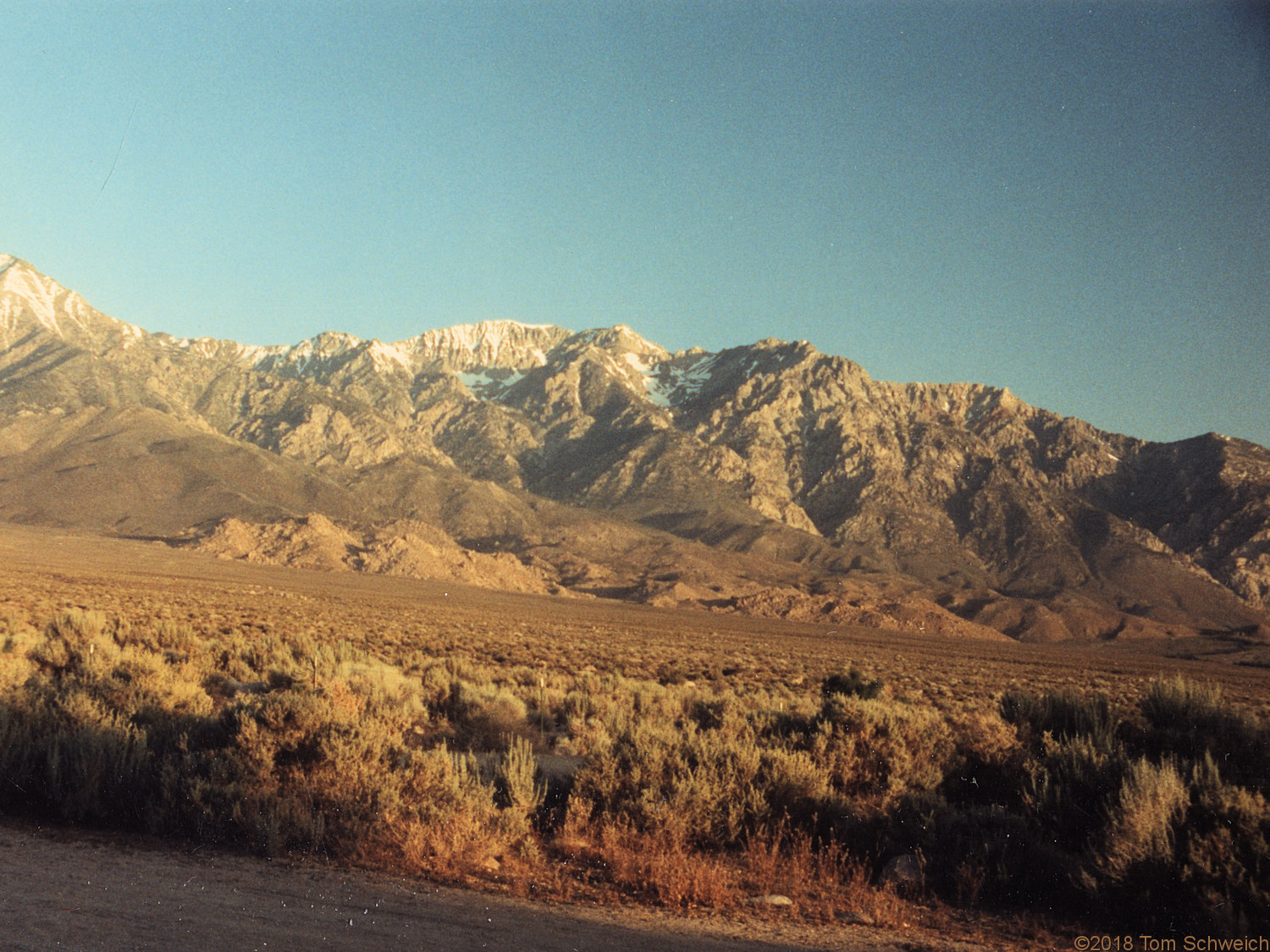 California, Inyo County, Independence Creek Campground