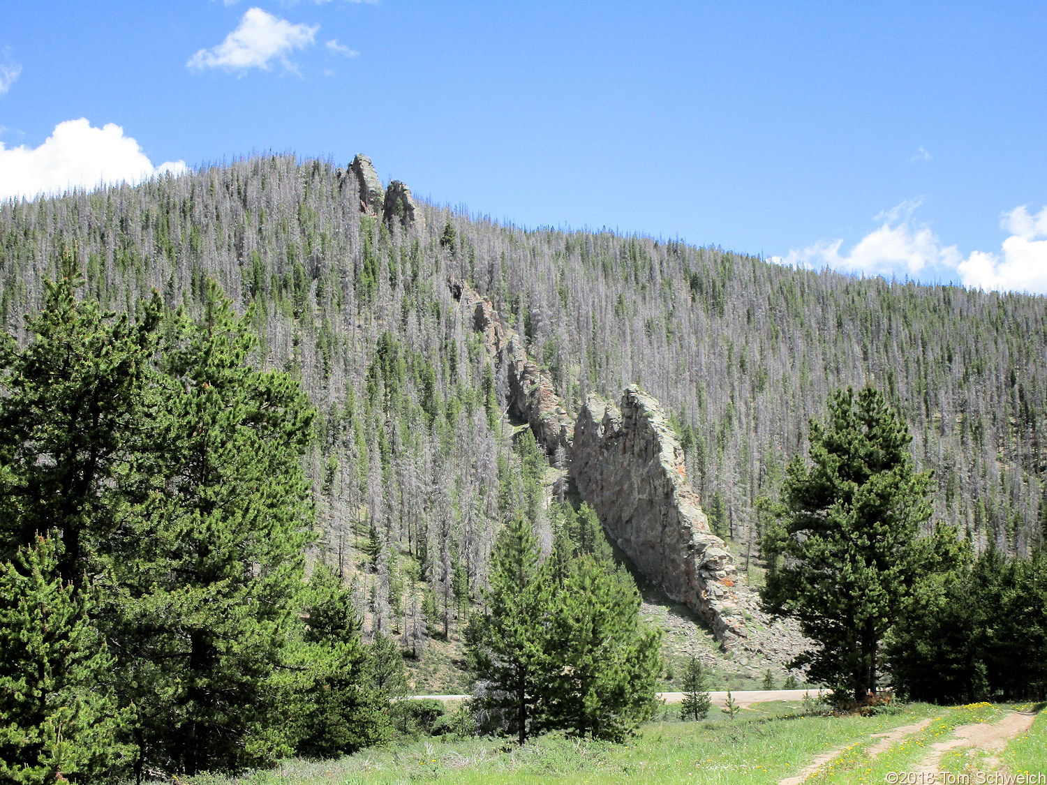 Colorado, Grand County, Pass Creek
