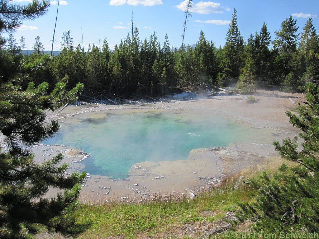 Wyoming, Park County, Norris Geyser Basin